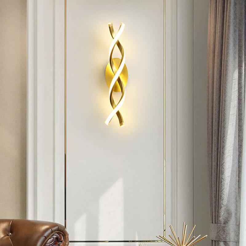 الداخلية الجدار الخفيفة الشمال الحديثة الحد الأدنى غرفة نوم أباجورة الممر الديكور حائط الخلفية تصميم الإبداع الجدار مصابيح