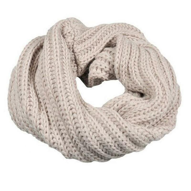 الشتاء النساء الرجال غزل الصوف محبوك طوق الرقبة الدافئة أدفأ وشاح التفاف هدية لينة الدافئة في الهواء الطلق النساء الملابس التبعي هدية