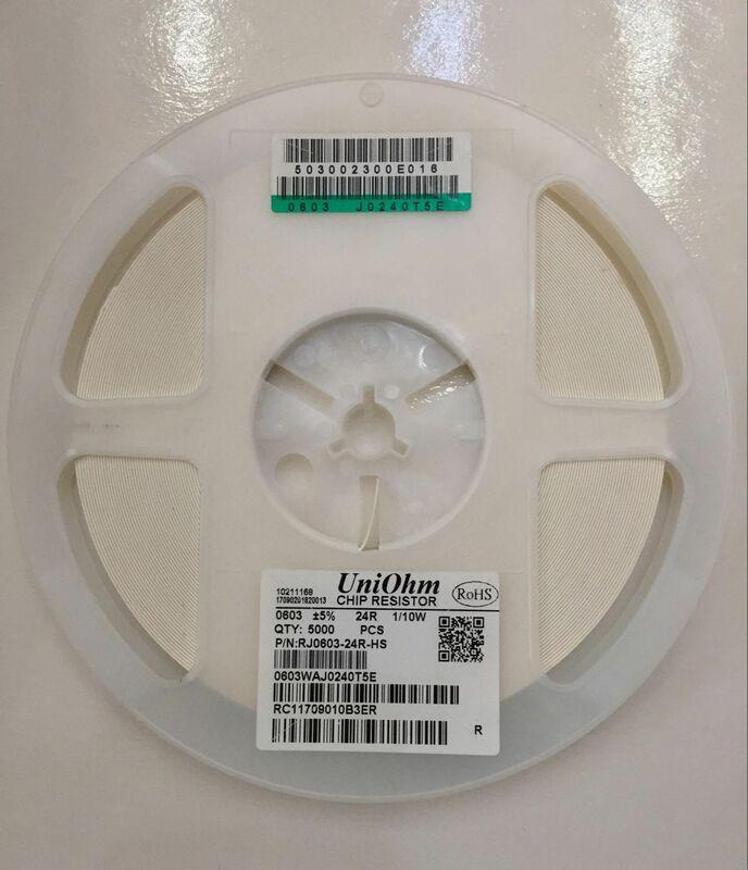 5000 قطعة/الوحدة UmiOhm/RALEC 0603 F 1% 1/10 واط سلسلة الصين إنتاج SMD المقاوم smt رقاقة bom شحن مجاني