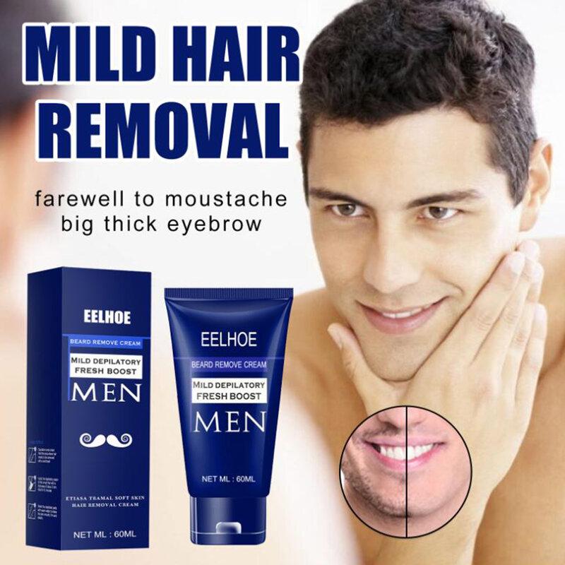كريم إزالة الشعر للرجال 60 مللي لأيدي الصدر العناية بالبشرة فعالة سريعة