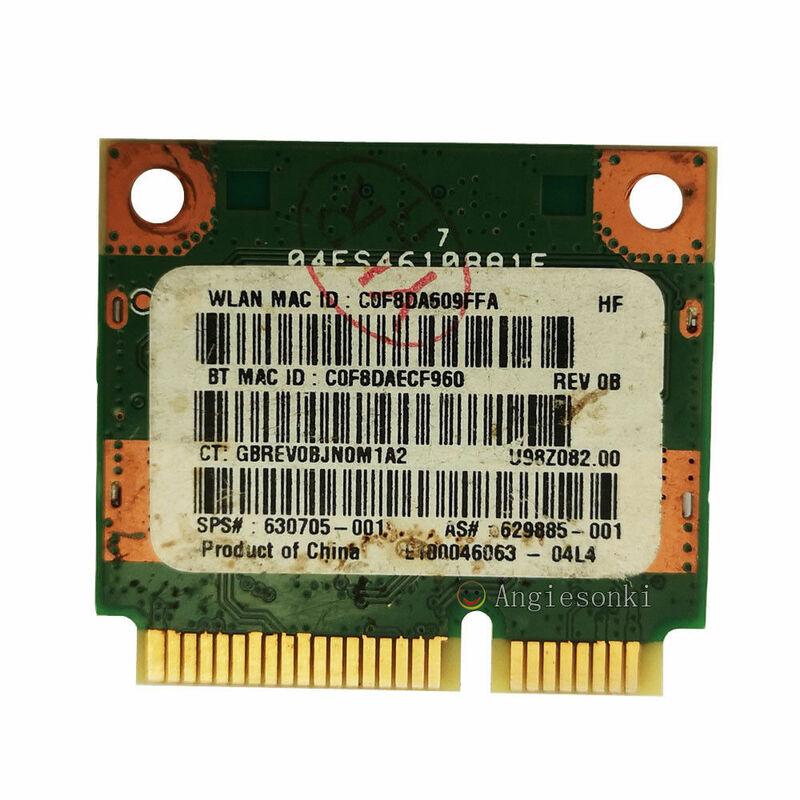 SSEA بطاقة لاسلكية واي فاي Bluetooth3.0 ل رالينك RT5390BC8 نصف صغير PCI-E 802.11b/g/n ل Hp DM1 DV4 DV7 G4 G6 G7 SPS:630705-001