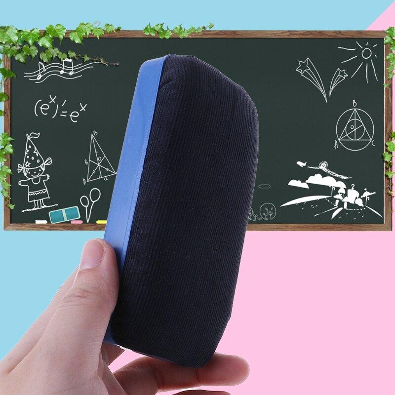 سبورة بيضاء مغناطيسية ممحاة البلاستيك علامة نظافة مسح القرطاسية المدرسية