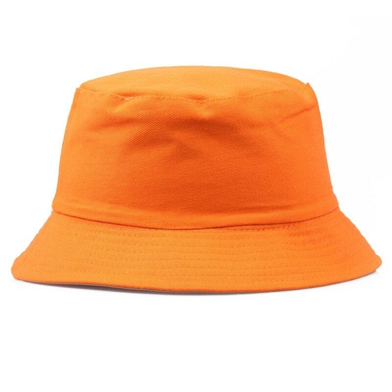 الصيف طوي قبعة بحافة بلون صياد قبعة موضة البرية الشمس غطاء للحماية في الهواء الطلق القبعات قبعات الكورية نمط جديد وصول