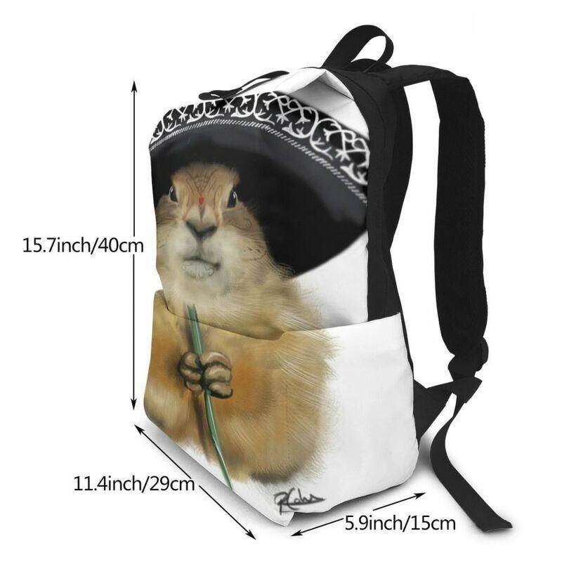 حقيبة ظهر للكلب المرج ، متعددة الأغراض ، مطبوعة ، عصرية ، للرجال والنساء ، جودة عالية