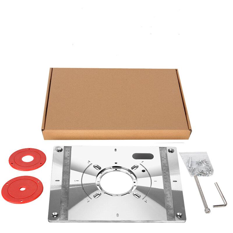 لوحة متعددة الوظائف لأدوات التوجيه آلات النجارة مقاعد النجارة طاولة التوجيه إدراج لوحة النقش المجلس