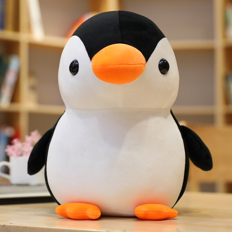 Kawaii الساخن Huggable لينة البطريق ألعاب من القطيفة الأطفال محشوة اللعب دمية الاطفال لعبة زينة هدية عيد ميلاد للأطفال