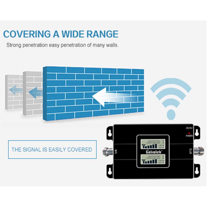 Lintratek 2G 4G ثنائي النطاق إشارة الداعم CDMA 850 قطعة 1900 GSM WCDMA 1800 2100 مكرر الهاتف المحمول الفرقة 2 مكبر للصوت الخلوي