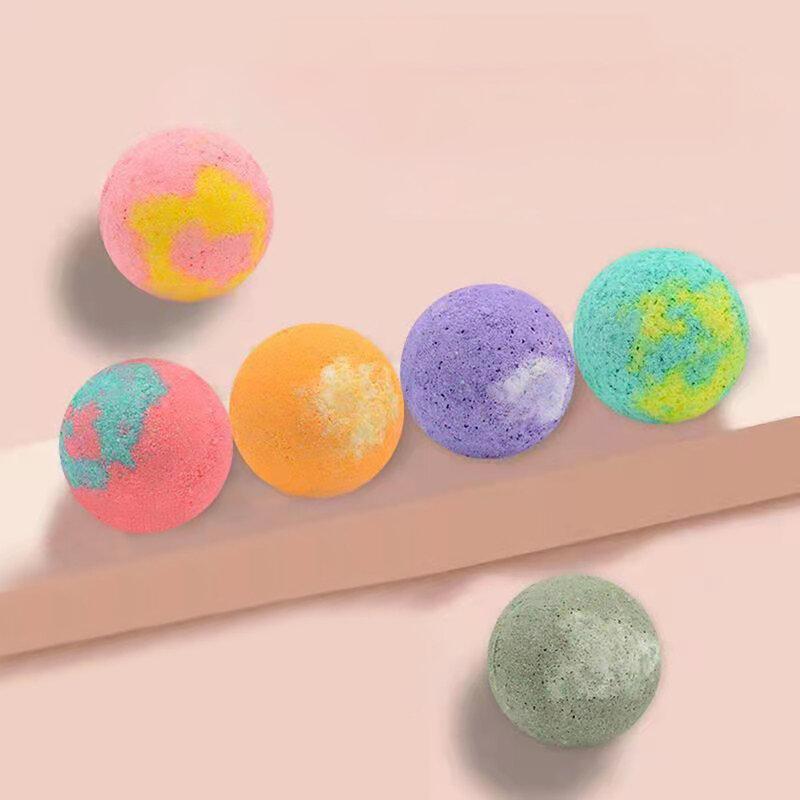 طقم 12 قطعة من كرة استحمام عضوية ، صابون زيت طبيعي طبيعي ، حمام فقاعة ، مضخة ملح استحمام ، تنظيف ترطيب الجسم