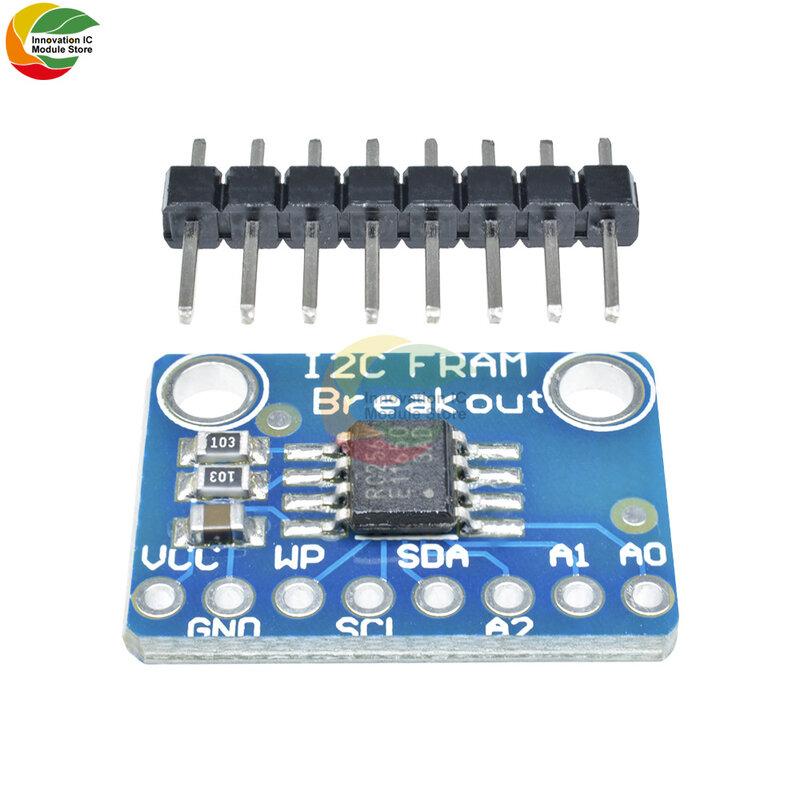 2.7 فولت 5.5 فولت MB85RC256V الذاكرة IC 32KB أدوات التنمية I2C غير المتطايرة فرام لوحة القطع وحدة لجهاز الاستشعار المحمولة