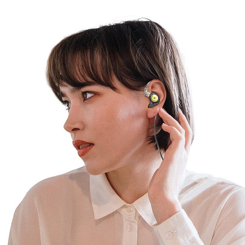سماعات أذن KZ EDX Pro مزودة بجهير هاي فاي سماعات داخل الأذن سماعات رياضية مزودة بخاصية إلغاء الضوضاء منتج جديد!