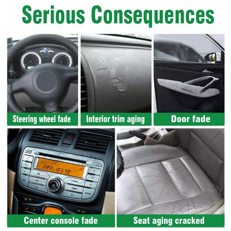 العناية بالسيارات تجديد نظافة الجلود مقعد البولندية لوحة القيادة الداخلية تنظيف أداة متعددة الوظائف الجلود علاج إصلاح وكيل