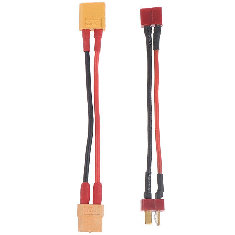 كابل محول البطارية على شكل حرف Y ، موصل تسخير سلسلة XT60 ، خط T ، موصلات/أسلاك متوازية XT60