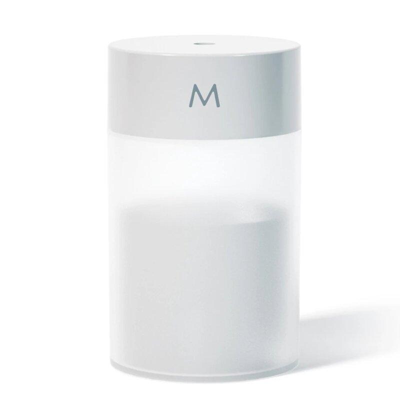 مرطب هوائي USB 260 مللي بالموجات فوق الصوتية البسيطة الروائح الناشر المحمولة البخاخ زيت طبيعي البخاخة LED مصباح المنزل ضباب صانع