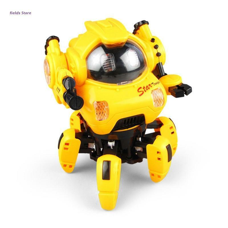 6 مخلب روبوت لعبة كهربائية مع أضواء وأصوات للأطفال هدايا عيد الميلاد