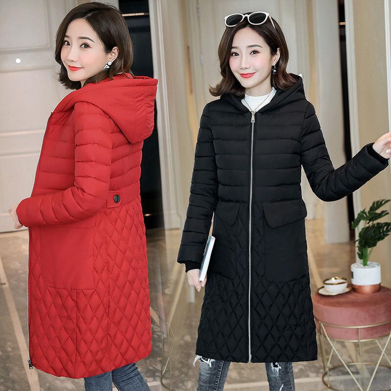 ملابس قطنية نحيفة وخفيفة للنساء 2021 تظهر خصر رقيق مع جيب كبير متعدد الألوان ملابس قطنية نسائية باردة
