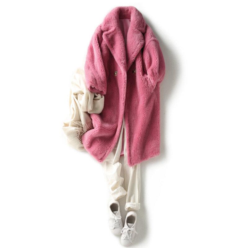 نمط الصوف معطف مزاجه نمط تنوعا معطف سوبر الدافئة