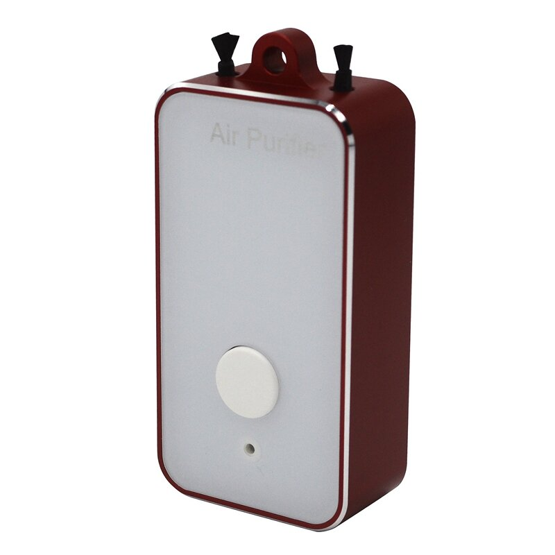 منقي هواء محمول ، جهاز شخصي ، محمول ، بطارية 250 مللي أمبير ، معلق على الرقبة ، أيونات سالبة