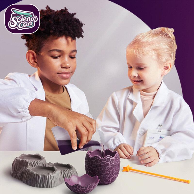 لتقوم بها بنفسك محطة تجريبية العلوم يمكن للأطفال اللعب العلمية والتعليمية ديناصور Seris نمو الكريستال البخار 4-8y الصبي الحاضر