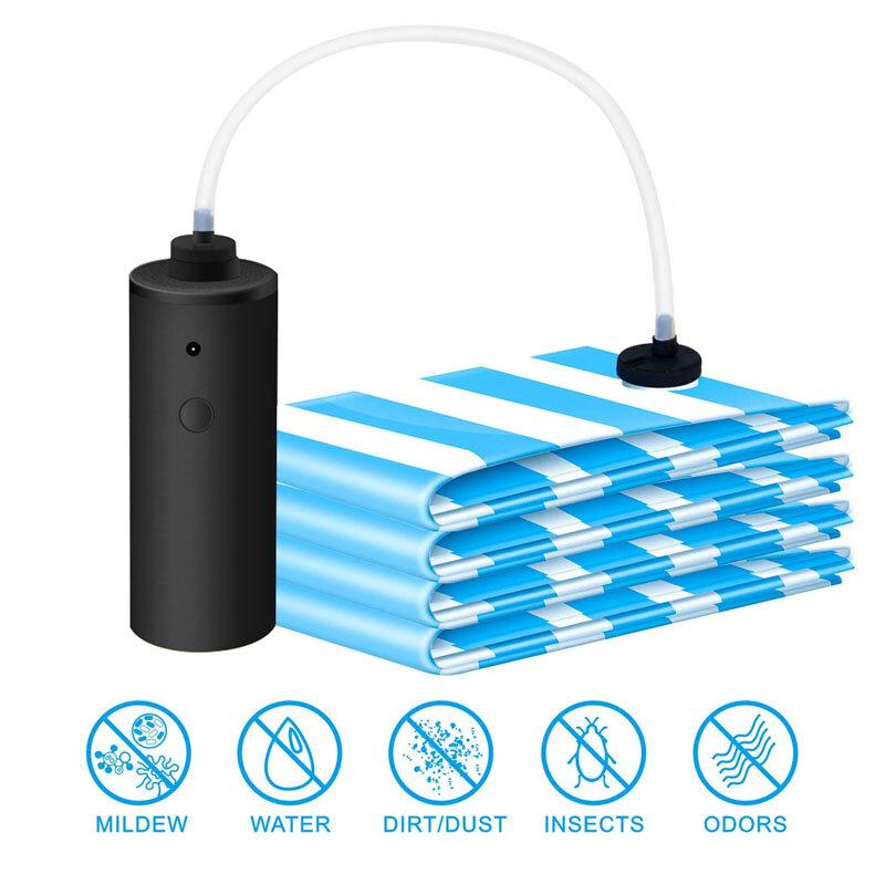 الكهربائية فراغ تخزين مضخة للسفر المنزل الملابس البطانيات المحمولة اليد Sous فيديو الغذاء التوقف أكياس مكنسة آلة السدادة