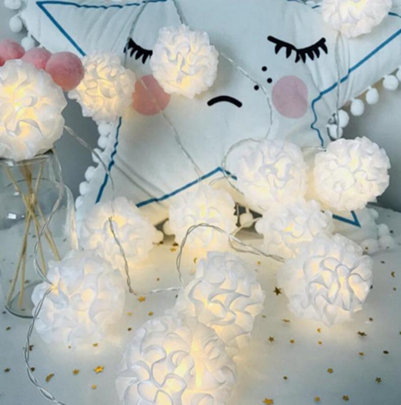 3M 20 Led الزفاف بطارية LED ضوء سلسلة عيد الميلاد الأحداث حزب أضواء الديكور الملونة عطلة في الهواء الطلق مصباح ليد