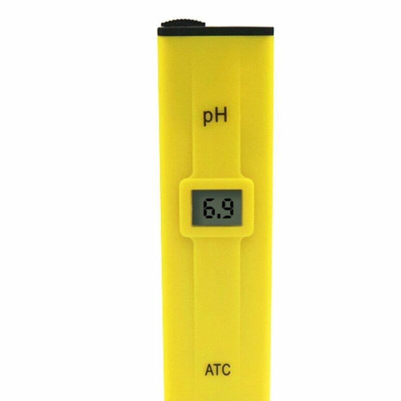 مزدوجة القطب تصحيح PH اقلام الفحص الرقمي اختبار مقياس PH المائية بركة المياه حوض السمك الجيب المحمولة