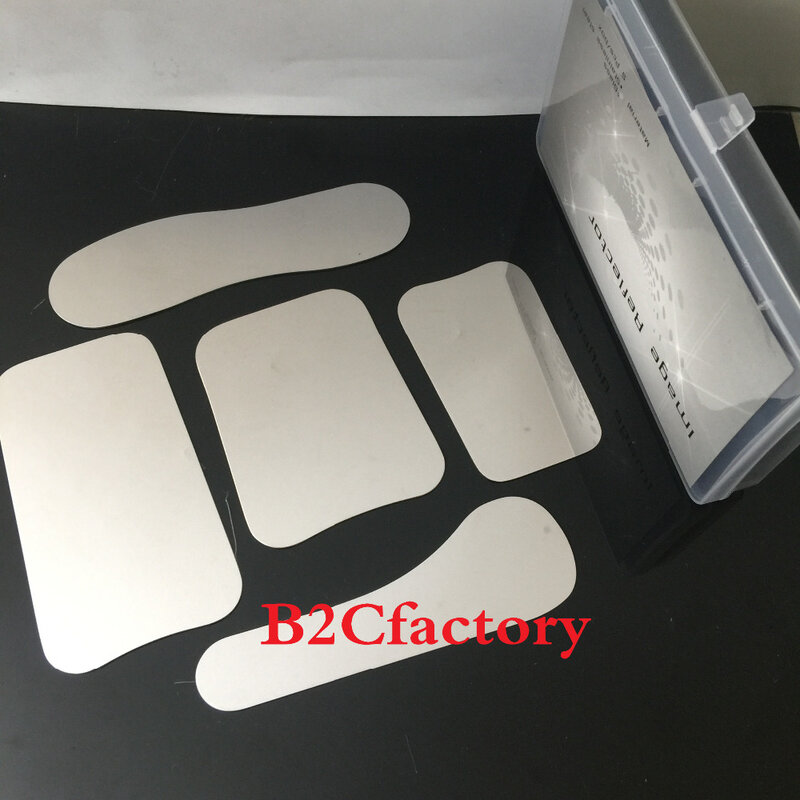 أدوات أسنان من الفولاذ المقاوم للصدأ مرآة التصوير + 4 قطعة الأسنان داخل الفم الخد ضام الفم فتاحات طبيب الأسنان أدوات التصوير