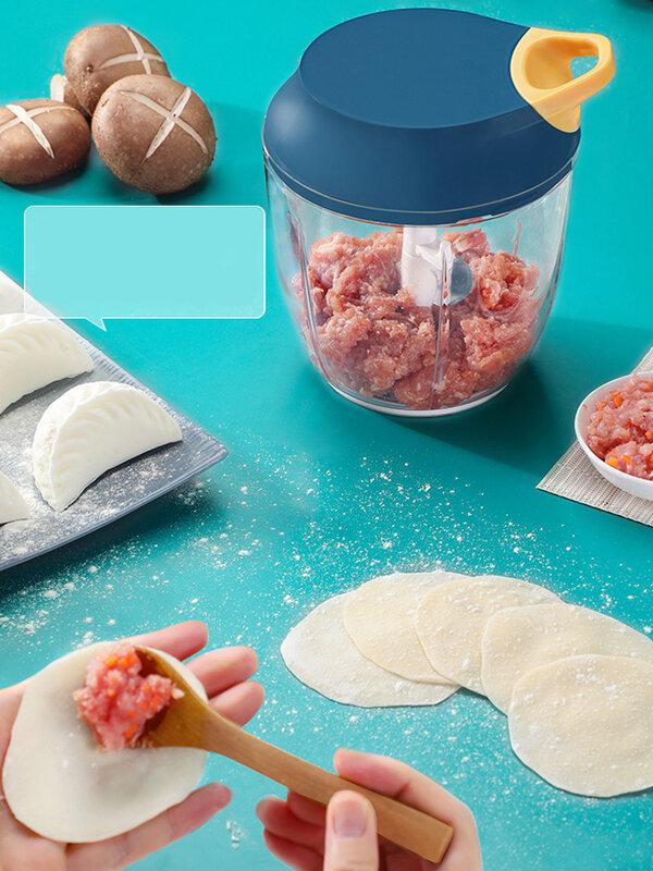 JOYBOS الثوم هراسة الثوم الخضار الفلفل الحار اللحوم الثوم المروحية الصحافة آلة الهريس أدوات المطبخ JBS