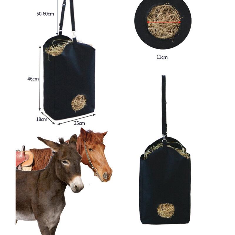 بطيئة تغذية القش حقيبة القش تخزين المغذية الحقيبة حمل في الهواء الطلق ركوب الخيل أداء التدريب والعتاد