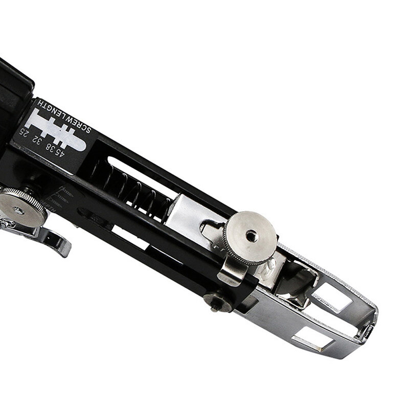 التلقائي برغي سلسلة مسدس مسامير محول مفك كهربائي للاستخدام المنزلي حفار كهربائي مرفق مع 50 مسامير