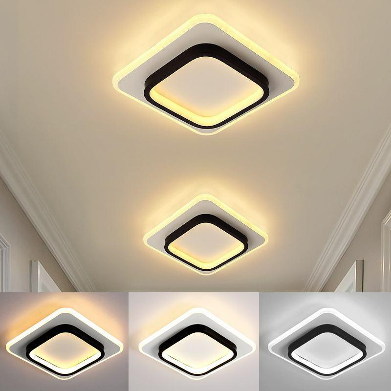 الحديثة ثريا تركب بالسقف أضواء السقف الزخرفية LED مصابيح السقف الإضاءة الداخلية لغرفة المعيشة الممر الممر