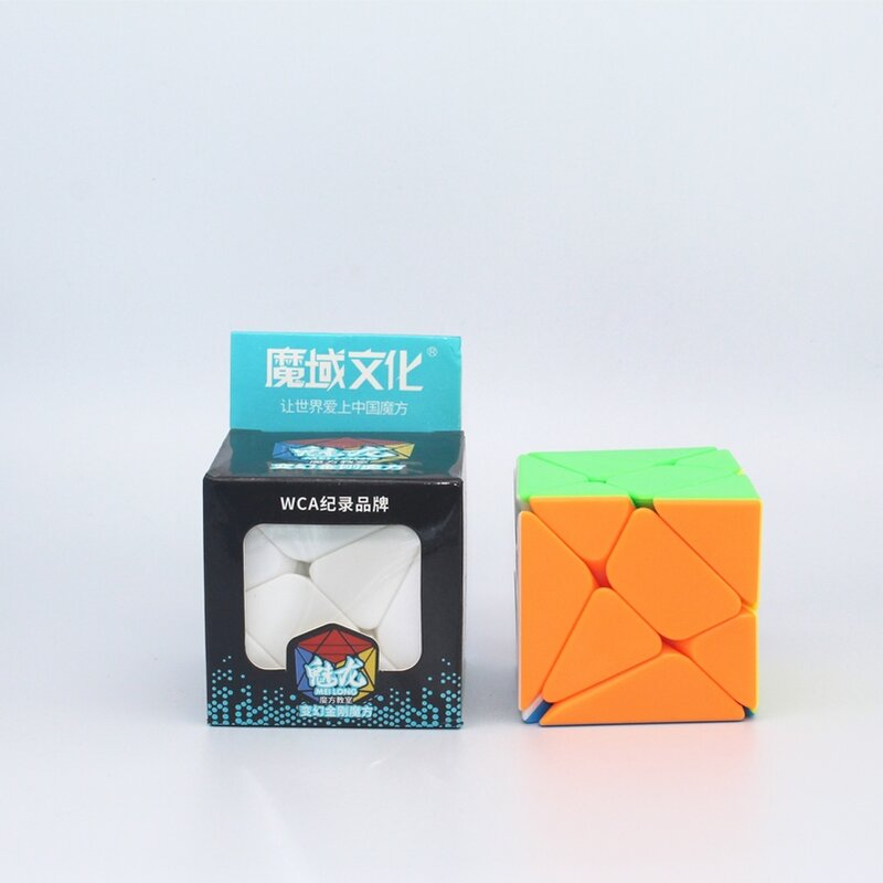 Moyu محور المكعب السحري الجديد انحراف محور مكعب Moyu 3x3 سرعة مكعب متعة لعبة مكعب اللعب
