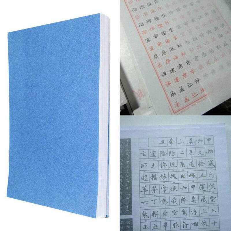 100 ورقة/حزمة تتبع ورقة المؤلف ورقة شفافة نسخ الكتابة الخط ل السكتة الدماغية ورقة Scra الرسم القرطاسية Z9D4
