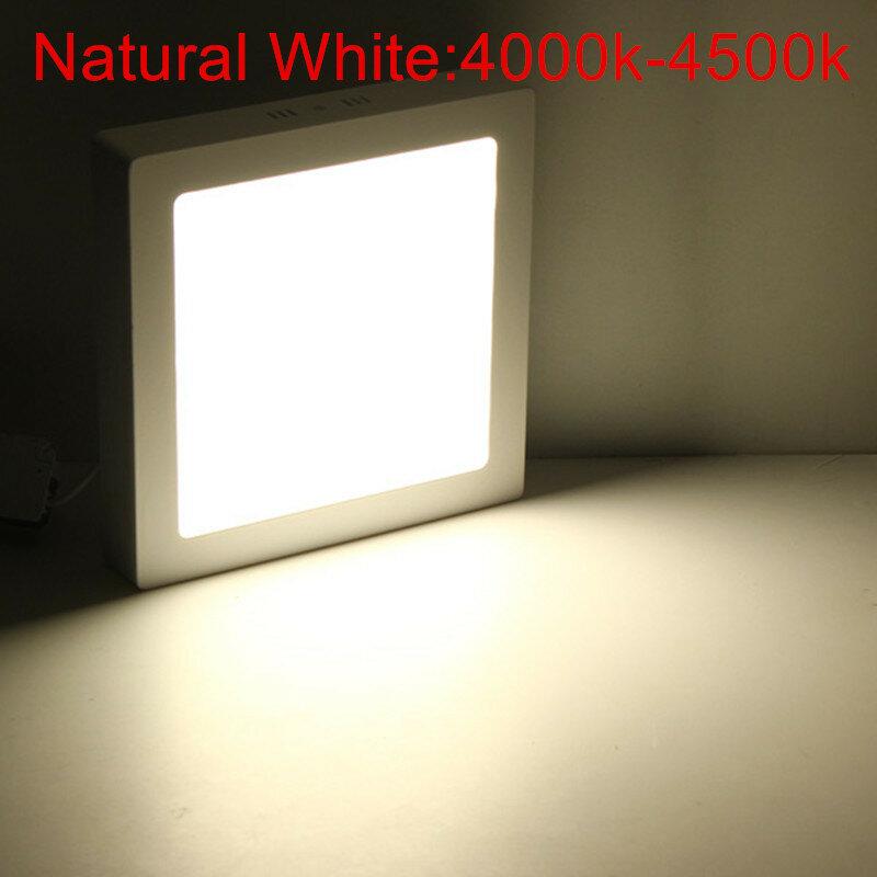 سطح شنت 9W 15W 25W 30W عكس الضوء LED النازل السقف لوحة الإضاءة مصباح AC85-265V AC110V/220V سطح الصمام أسفل ضوء