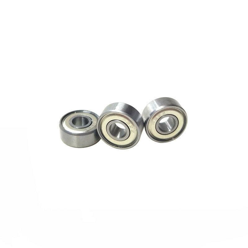 100 قطعة R3ZZ R3-2Z R3 محمية تحمل 3/16x1/2x0.196 بوصة مصغرة كرات تروس الحمل عميقة الاخدود 4.762*12.7*4.978mm