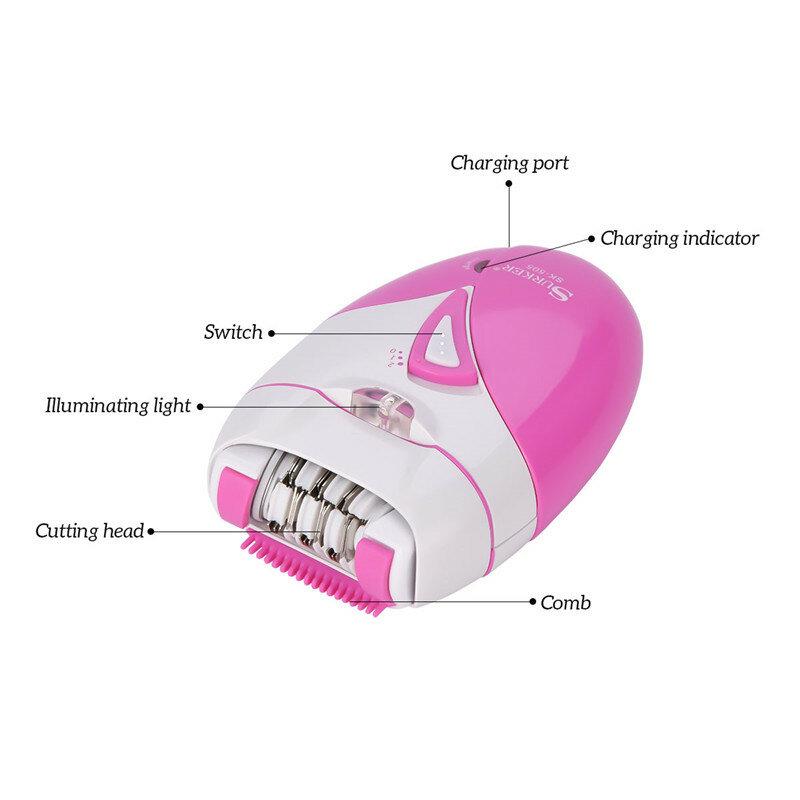 آلة إزالة الشعر الكهربائية الصغيرة للنساء ، جهاز إزالة شعر الوجه ، الذقن ، الشفاه ، للسيدات