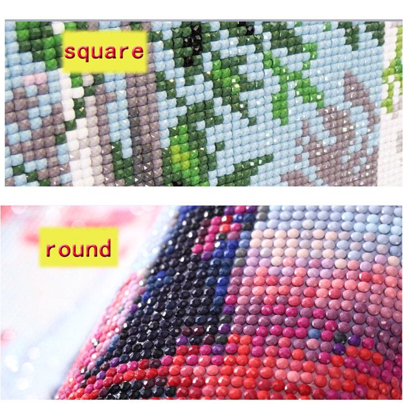يي مشرق الحفر مربع كامل 5D DIY بها بنفسك الماس اللوحة الحيوان القط التطريز عبر غرزة هدية تزيين المنزل