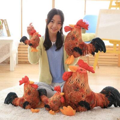 Kawaii ألعاب من نسيج مخملي الدجاج الدجاجة لطيف عش الفرخ نابض بالحياة محشوة الحيوان عيد الميلاد لعبة هدايا للأطفال ألعاب تعليمية للأطفال لينة