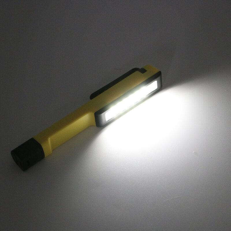 LED الشعلة الفانوس متعددة الوظائف مصلحة الارصاد الجوية اليد ضوء العمل مشبك مغناطيسي العمل إصلاح مصباح التخييم مصباح يدوي ضوء الطوارئ