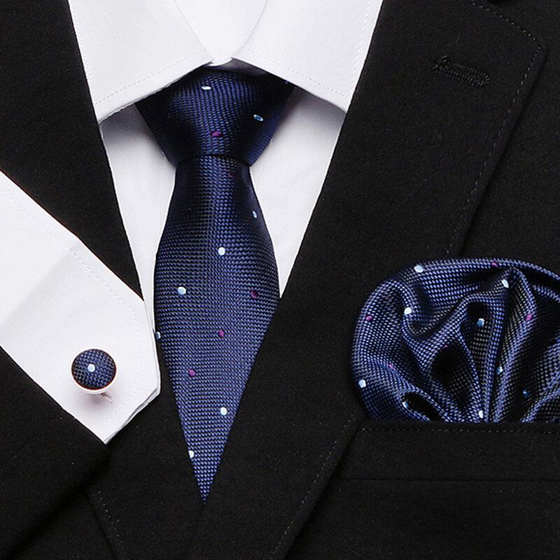 ربطة عنق رجالية طويلة جدًا ، 145 سنتيمتر 7.5 سنتيمتر ، حرير بيزلي ، جاكار ، أزرق كحلي ، أحمر ، لحفلات الزفاف