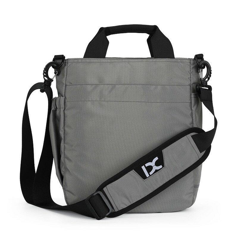 حقيبة سفر رجالية مقاومة للماء ، حقيبة كتف مع فتحة سماعة رأس ، حقيبة سفر نايلون مقاومة للماء ، سعة تخزين كبيرة ZL020