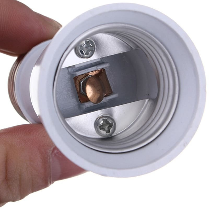 قاعدة تمديد مقبس المصباح E27 إلى E27 ، محول لمبة LED ، حامل المصباح ، محول الإضاءة