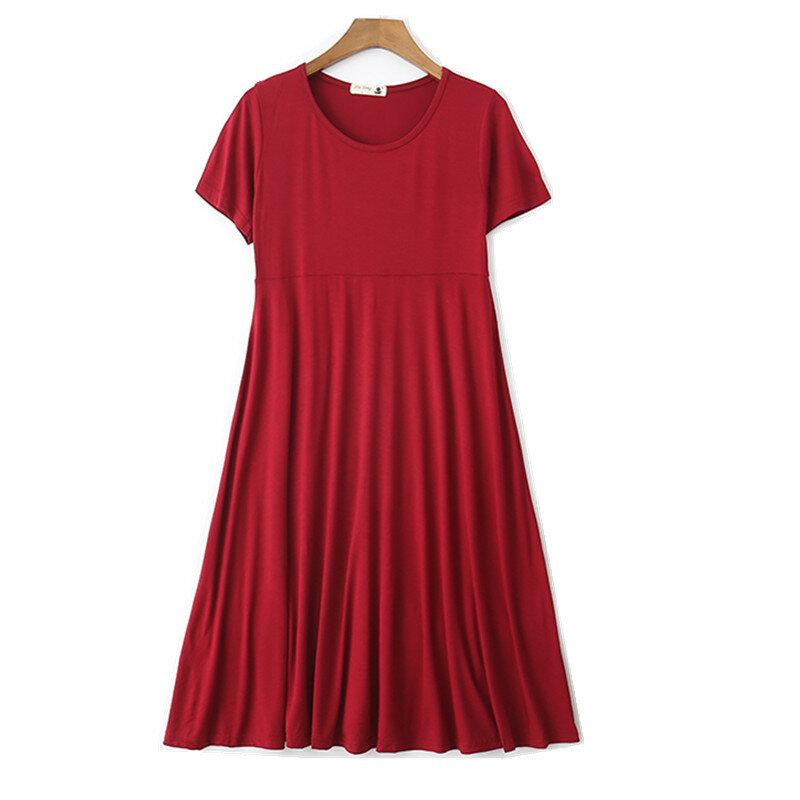 جديد الصيف الأمومة اللباس حامل؛ حبلى القطن فساتين ملابس للنساء الحوامل Maternidade الحمل الأزياء الملابس
