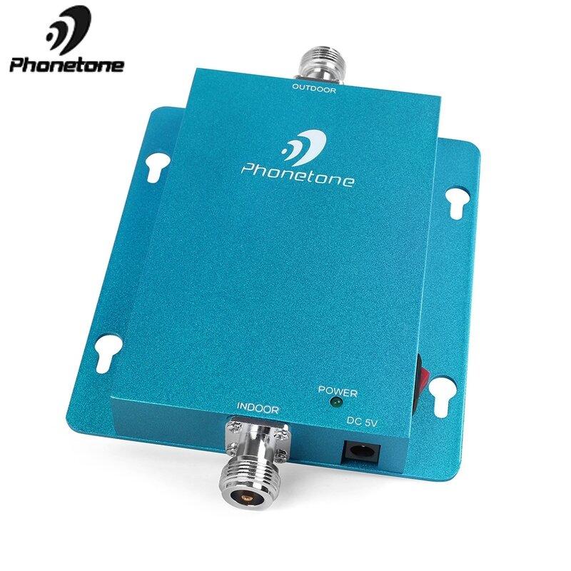 مكبر إشارة الهاتف الخلوي 3G ، حجم صغير ، قوي ، 2100MHz ، 62db ، 3G