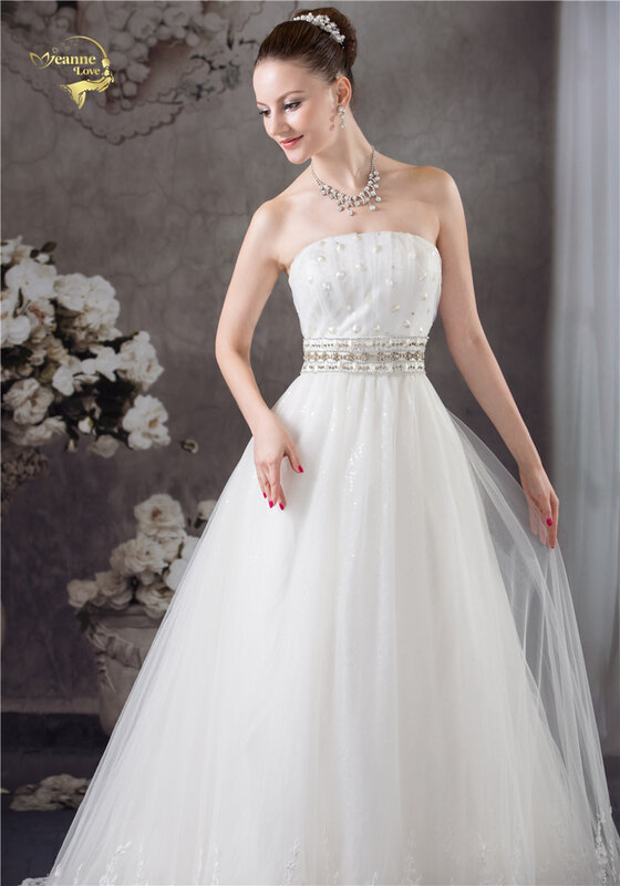 فستان زفاف عتيق ، موضة A-Line ، تول ، فستان زفاف ، BlingBling ، مقاس كبير ، مجموعة جديدة 2020