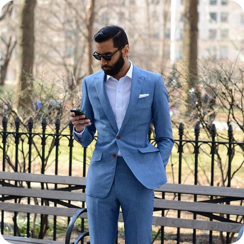 الأسود الرجال الكلاسيكية دعوى ل الرسمي الأعمال نحيل الذكور الحلل سترة 2 قطعة يتأهل Terno Masculino زي أوم حفلة موسيقية ارتداء