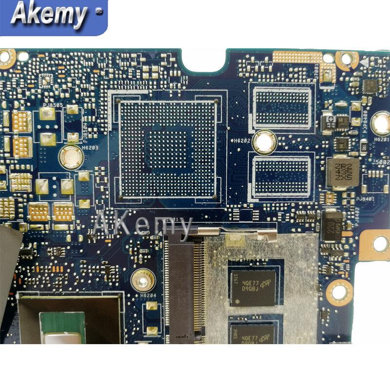 Akemy UX303LAB اللوحة الأم لأجهزة الكمبيوتر المحمول For Asus UX303LA UX303LNB اللوحة الأم I7-5500U 4GB RAM 90NB04Y0-R05000