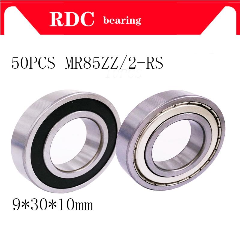 50 قطعة MR85ZZ MR85 2RS تحمل ABEC-5 5*8*2.5mm مصغرة MR85 ZZ اضعا الكرة MR85ZZ MR85-2RS 675ZZ L-850ZZ 5*8*2.5