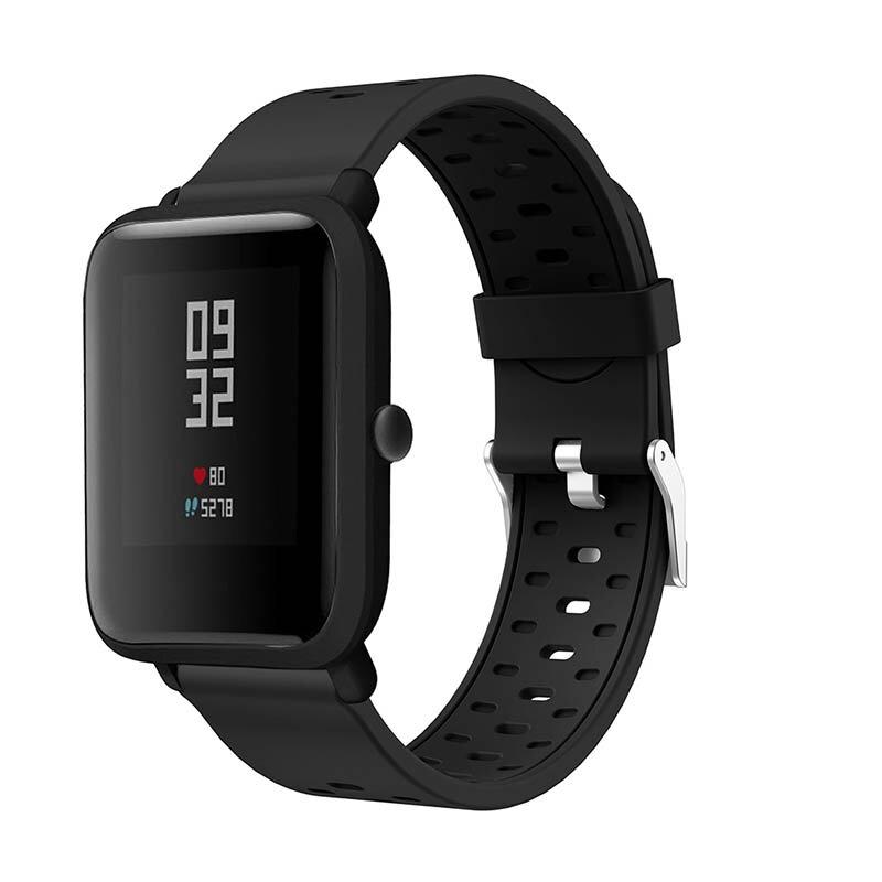 سوار ساعة من السيليكون لـ Huami Amazfit ، حزام بديل 20 مللي متر لساعات Samsung Gear S2/gear الرياضية