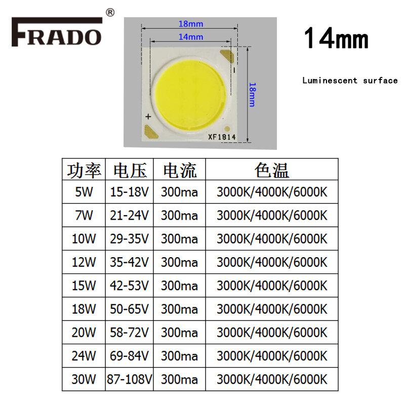 2 قطعة عالية الطاقة LED رقاقة 3 واط 5 واط 10 واط 15 واط 20 واط 24 واط 30 واط المتكاملة SMD COB الخرز الدافئة/الطبيعية الأبيض مصباح ديود ل led لمبة الأضواء