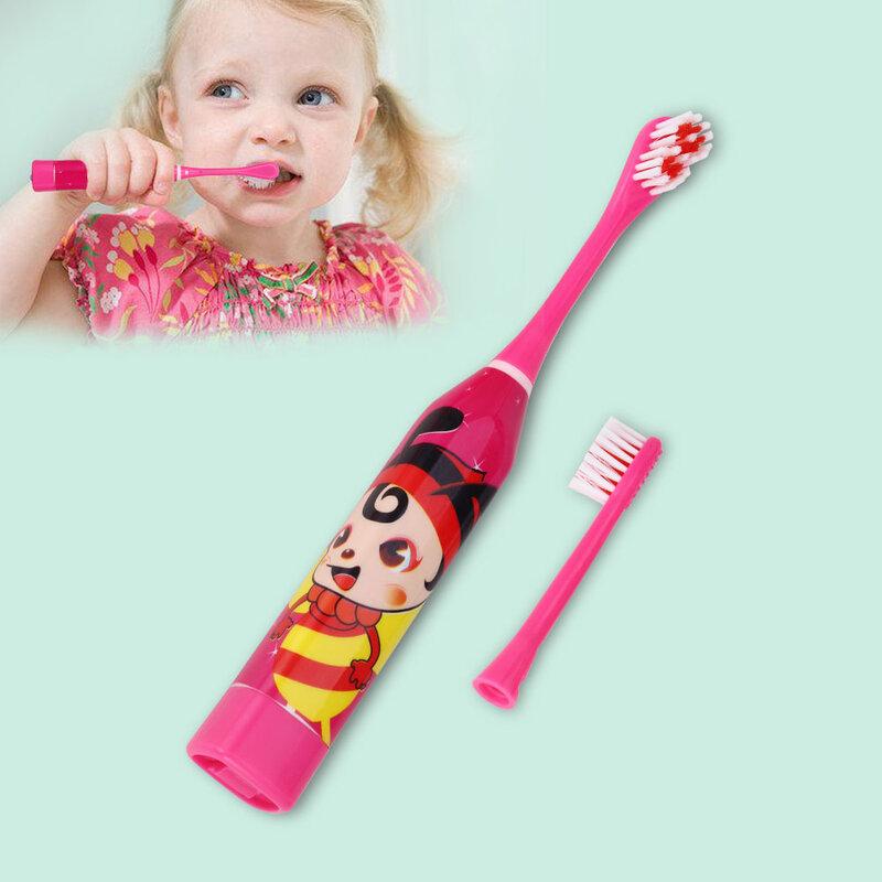 الكرتون نمط الأطفال فرشاة الأسنان الكهربائية على الوجهين فرشاة أسنان رؤساء فرشاة أسنان كهربائية أو رؤوس فرشاة الاستبدال الاطفال Arabshoppy